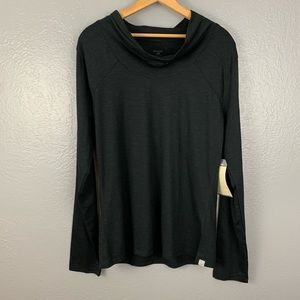 NWT Toad&Co Cassiopeia Knit Top - Black